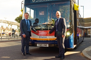 Craig Mackinlay MP, Stagecoach
